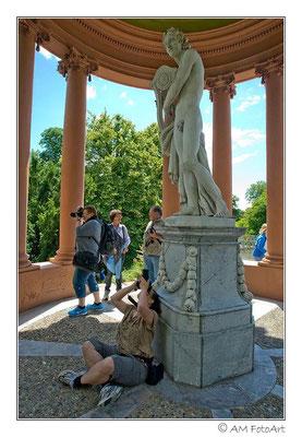 Statue im Schwetzinger Schloßgarten