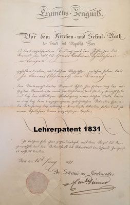 Johannes Abplanalp, Bönigen 1804-1850