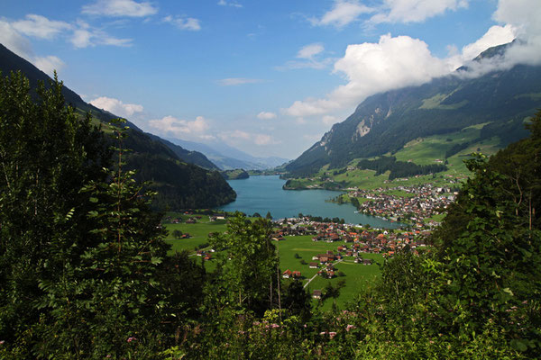 Lungner See in der Schweiz