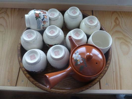 静岡なので、ぜひ緑茶を楽しんでくださいね。お茶葉、常備してあります。