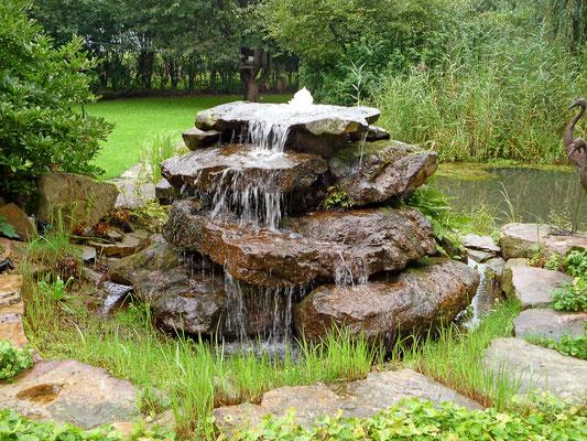 Wasser im Garten von GaLaBau Menzel