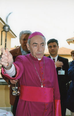 17 aprile 2010 - Inaugurazione del nuovo assetto del Museo -  Inaugurazione del nuovo assetto del Museo - benedizione di mons. Mauro Virgilio Ferrari