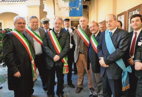 Festa del Perdono 2011 - Visita dei sindaci dell'antica Pieve di Corbetta