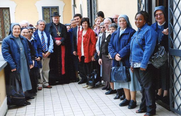 2011 - Pellegrinaggio della Diocesi di Lodi col vescovo Giuseppe Merisi