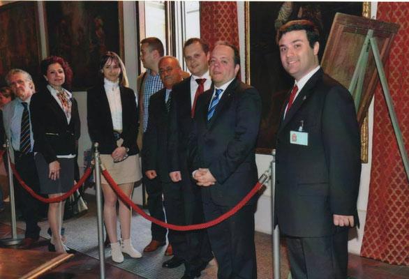 2014 - Festa del Perdono - Visita con la delegazione rumena di Târgoviște, comune gemellato con Corbetta