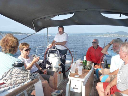 Im Golf von St. Tropez