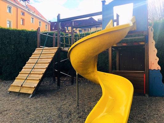 Gartenbereich Innsbruck  - Private Kinderbetreuung TSD