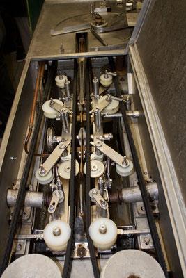 Diese Filetiermaschine haben Nils' Grosseltern noch persönlich mit dem Zug aus Schweden geholt