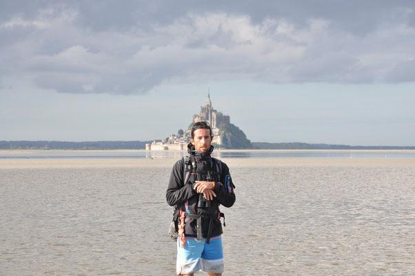 Julien devant le Mont