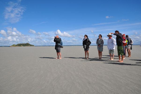 encerclement sur bancs de sables