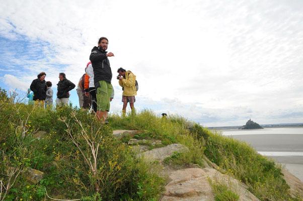 accès au sommet de Tombelaine : une vue incroyable !