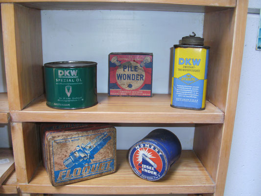 Sowas sammeln Belgier auch. Vintage Motor Museum Brügge.