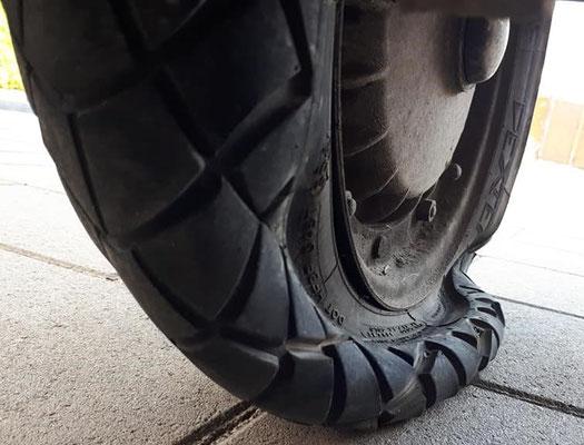 Reifenwechsel, sobald Zeit ist... und TÜV... und...
