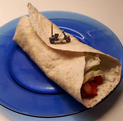 An Tortillas kann ich mich nicht sattessen. Da bremst nur die Vernunft.