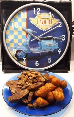 Lecker 3. Die Uhr ist übrigens zu verkaufen.