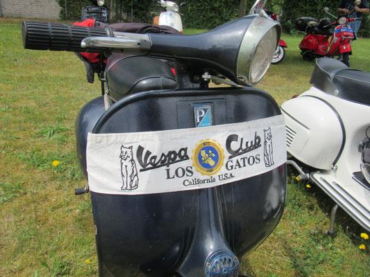 California Vespa Club Los Gatos. Auch doe Pickers aus Iowa sind bekennende Vespa-Fans.