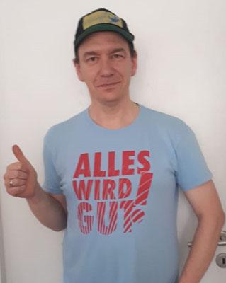 Am Ende gilt der Shirt-Spruch der Vespa Alp Days: Alles wird GUT!