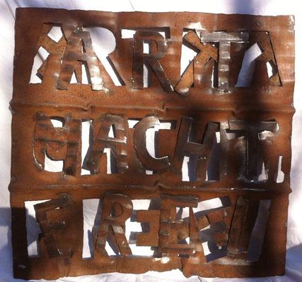ART MACHT FREI