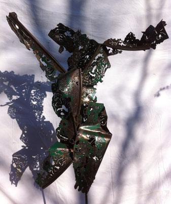 métal découpé 0.70m x 0.60m