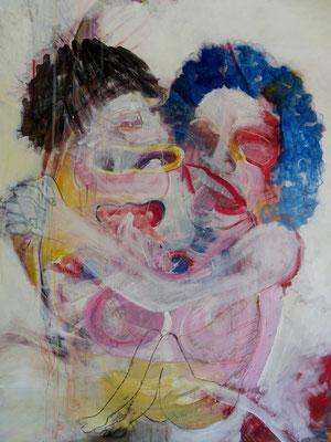 ST17 acrylique sur toile 100 x 80