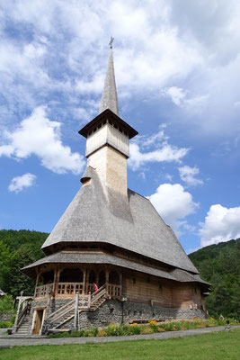 Wooden churches at Izei Valley - Maramures  - Romania