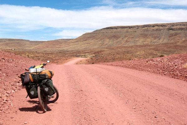 Leaving Sesriem - Namib Desert