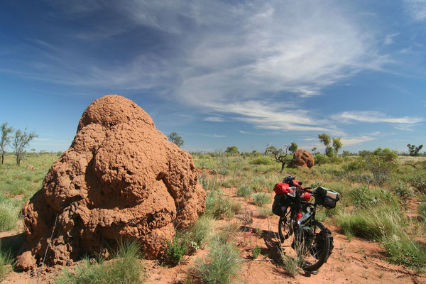 Giant anthill - Northern Territory