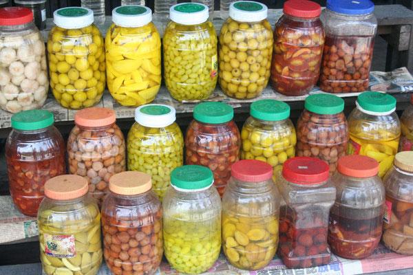 Malaysian fruit pickles - Malaysia East Coast