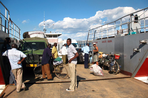 Crossing Mwanza Gulf - Lake Victoria