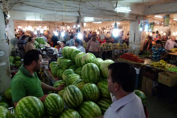 Fruit and vegetable market - Dohuk - Iraq