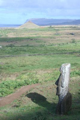 Moai - Rano Raraku