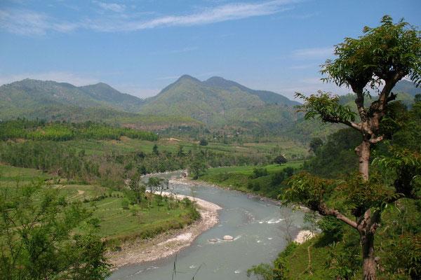 Marsyandi River - Prithvi Highway