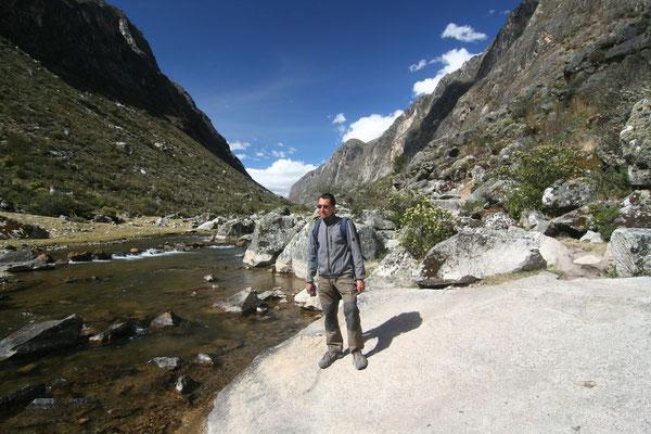 Santa Cruz Trek - Near Cashapampa - Cordillera Blanca