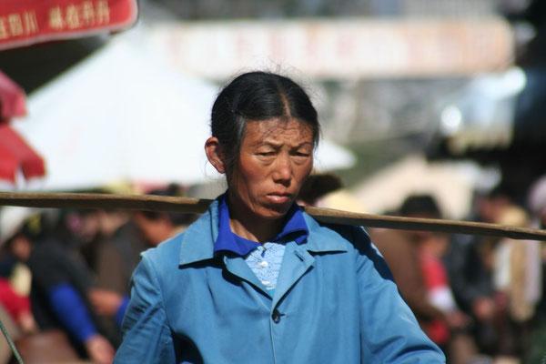Dali market - Northern Yunnan Province