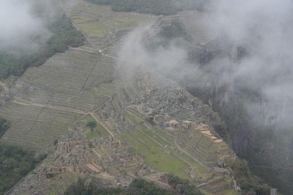 Machu Picchu - View from Huayna Picchu