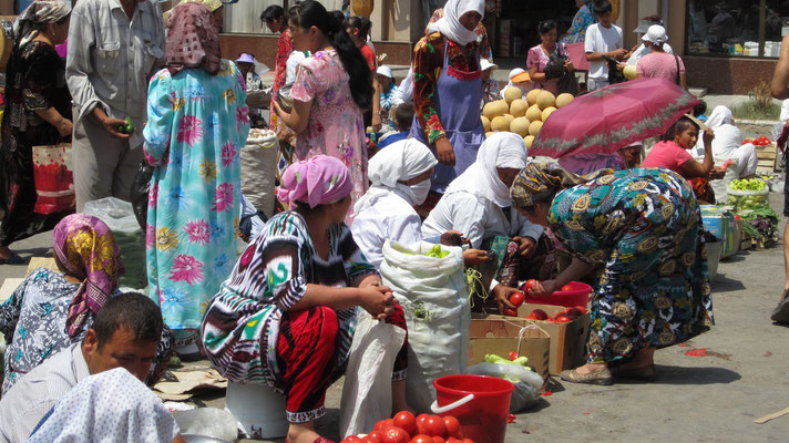 Krytyy Rynok Market - Samarkand - Uzbekistan