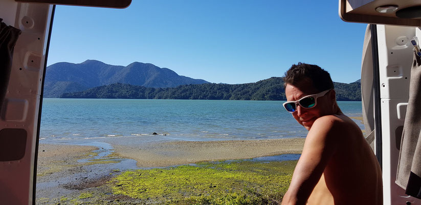 Kenepuru Sound - Marlborough Sounds - South Island