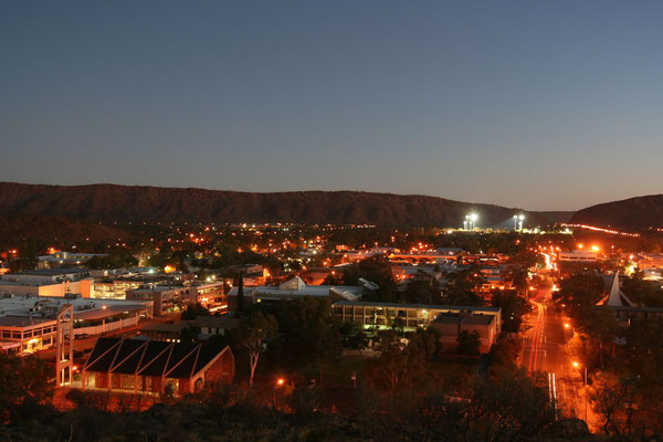 Dusk at Alice Springs - Northern Territory