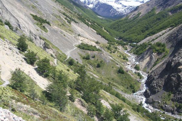 Rio Ascencio - Torres del Paine National Park