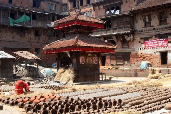 Potter´s Square - Bhaktapur - Kathmandu Valley