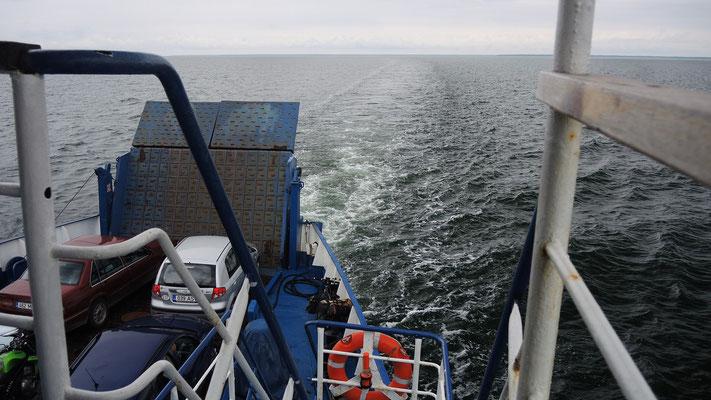 Hopping from Saaremaa Island to Hiiumaa Island - Estonia