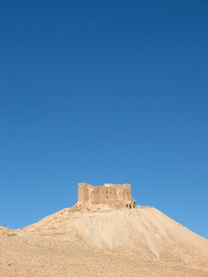 Qala´at ibn Maan Castle - Palmyra - Syria