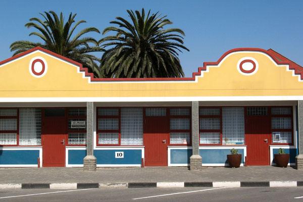 Housefront - Swakopmund