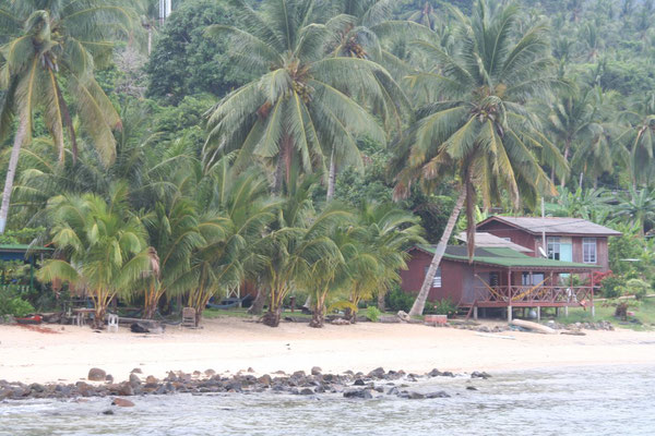 Beach bungalow - Tioman Island - Southeastern Malaysia