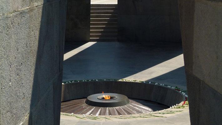 Tsitsernakaberd Genocide Memorial - Yerevan - Armenia