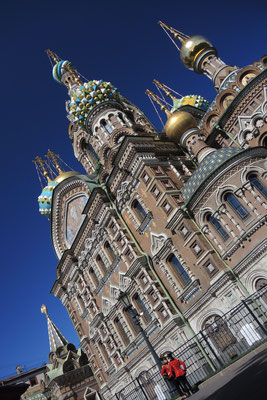 Church of the Saviour on Spilled Blood- Saint Petersburg - Russia