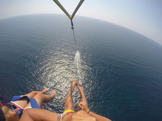 Parasailing in Pafos - Cyprus West Coast
