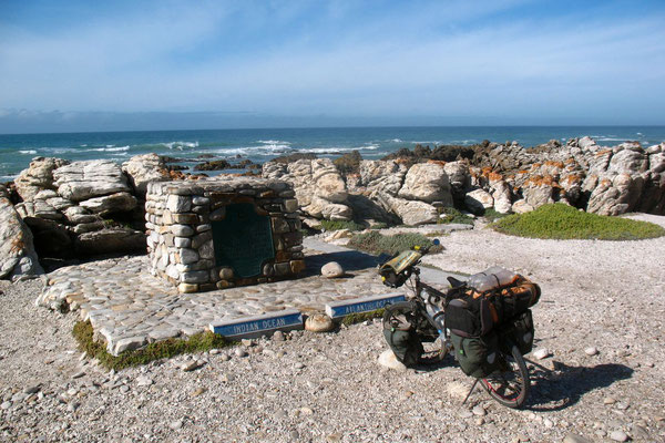 Indian and Atlantic Ocean - Cape L´Aghulhas