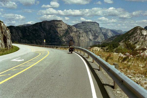 Cycling Lysefjorden - Southwestern Norway