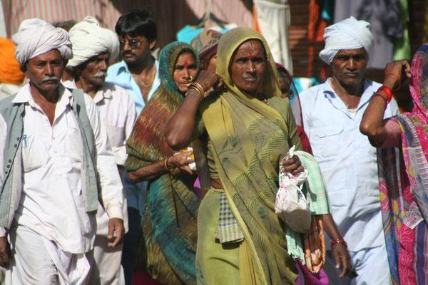 Hindu pilgrims - Pushkar - Rajasthan